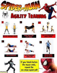 spiderman-agility-training